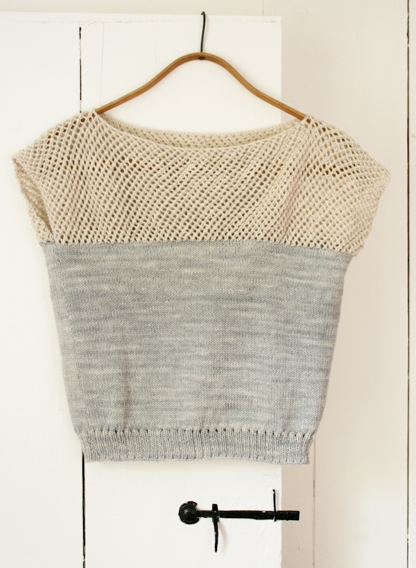 Cap Sleeve Lattice Top | Purl Soho