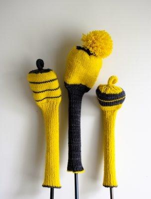 Knit Golf Club Covers | Purl Soho