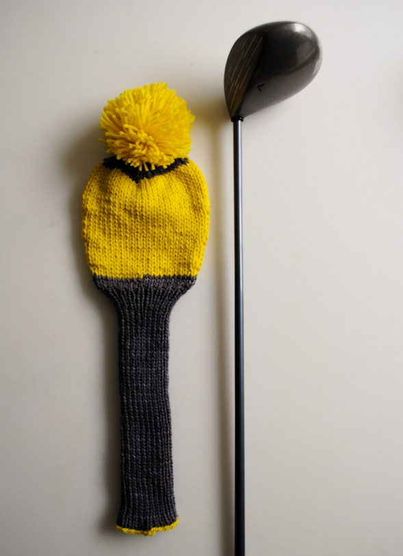 Knit Golf Club Covers Purl Soho