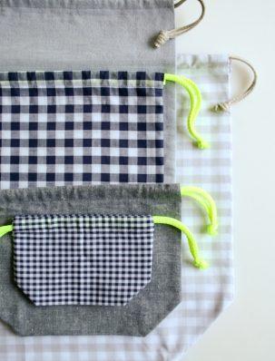 Easy Drawstring Bag: Four New Sizes! | Purl Soho