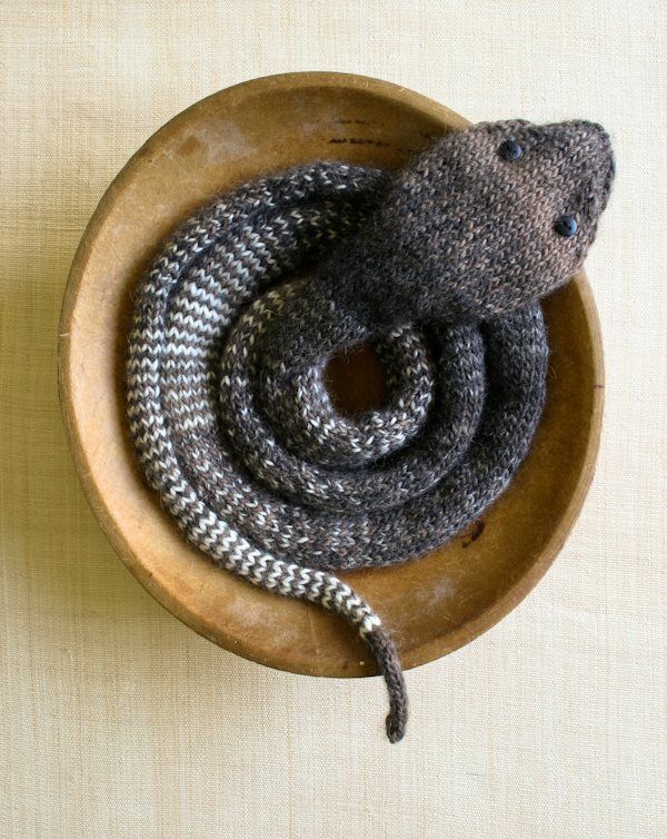 Striped Stockinette Snake | Purl Soho