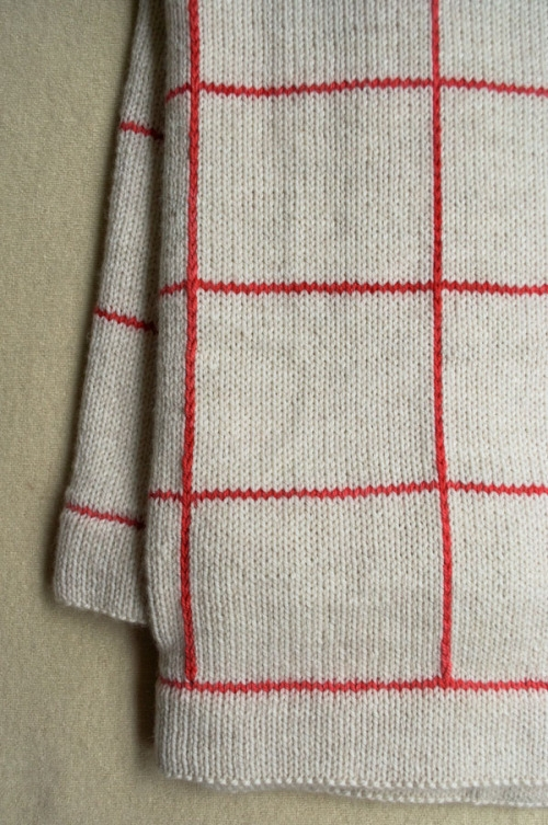 Lines + Squares Baby Blanket | Purl Soho