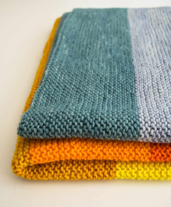 Simple Blanket Knitting Patterns : New Super Easy Baby Blanket Purl Soho