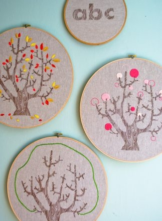 4 Seasons of Embroidery from Purl Soho + Egg Press   Purl Soho