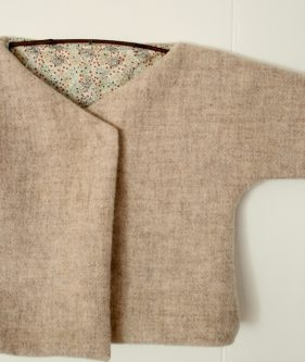 Felted Wool Baby Jacket