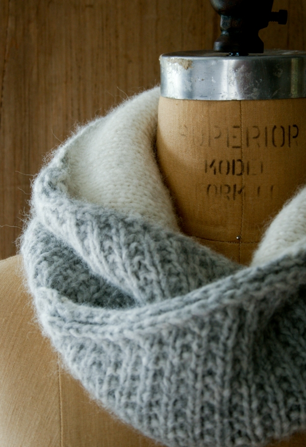 Shawl Collar Cowl | Purl Soho