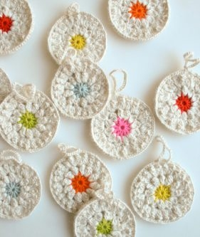 Snowflower Ornaments