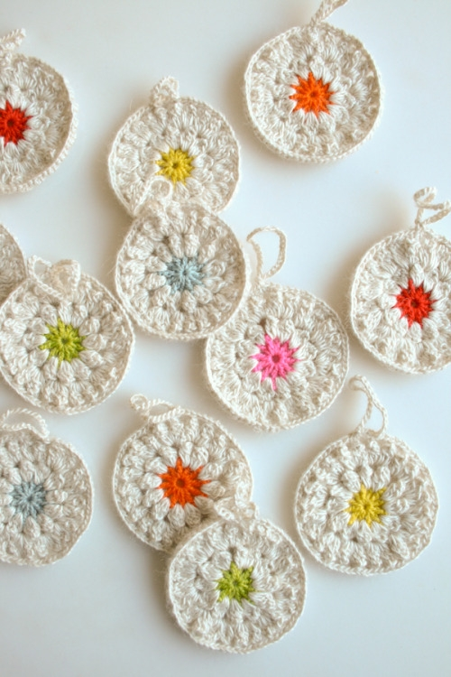 Snowflower Ornaments | Purl Soho