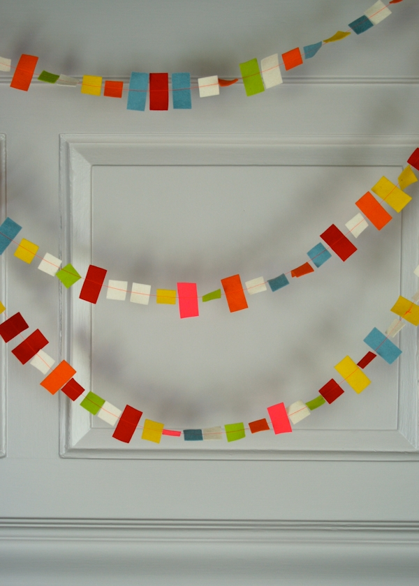 Confetti New Years Garland | Purl Soho
