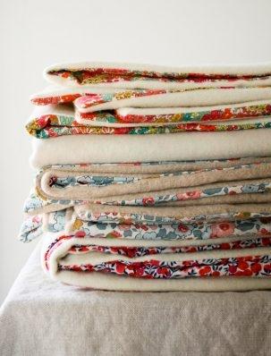 Liberty and Wool Lap Duvets | Purl Soho