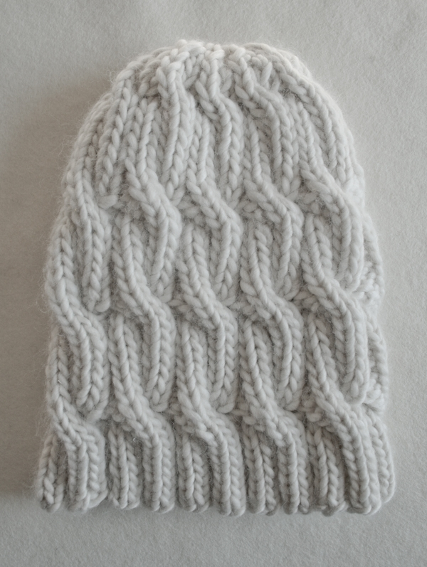 Chunky Cable Hat Purl Soho