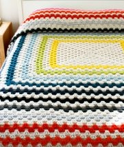 Giant, Giant Granny Square Blanket | Purl Soho