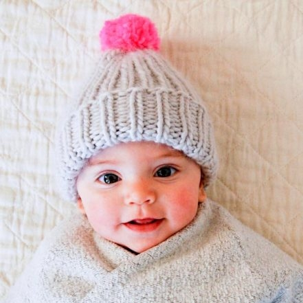 Super Simple Super Soft Merino Baby Hat | Purl Soho