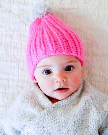 Super Simple Super Soft Merino Baby Hat  b4748fbf1fd