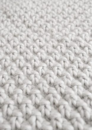 Double Seed Stitch Blanket | Purl Soho