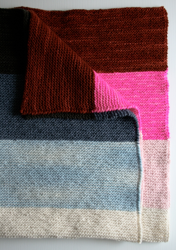 Super Easy Lap Blanket | Purl Soho