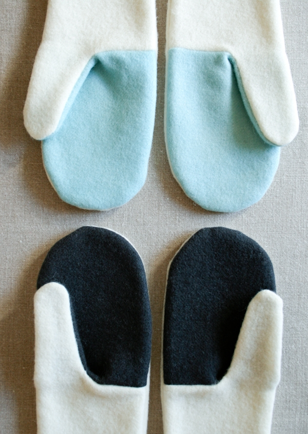Simple Felted Wool Mittens Purl Soho