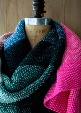 Amazing Seed Stitch Wrap | Purl Soho