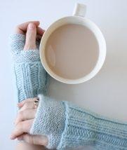 Cuffed Hand Warmers | Purl Soho