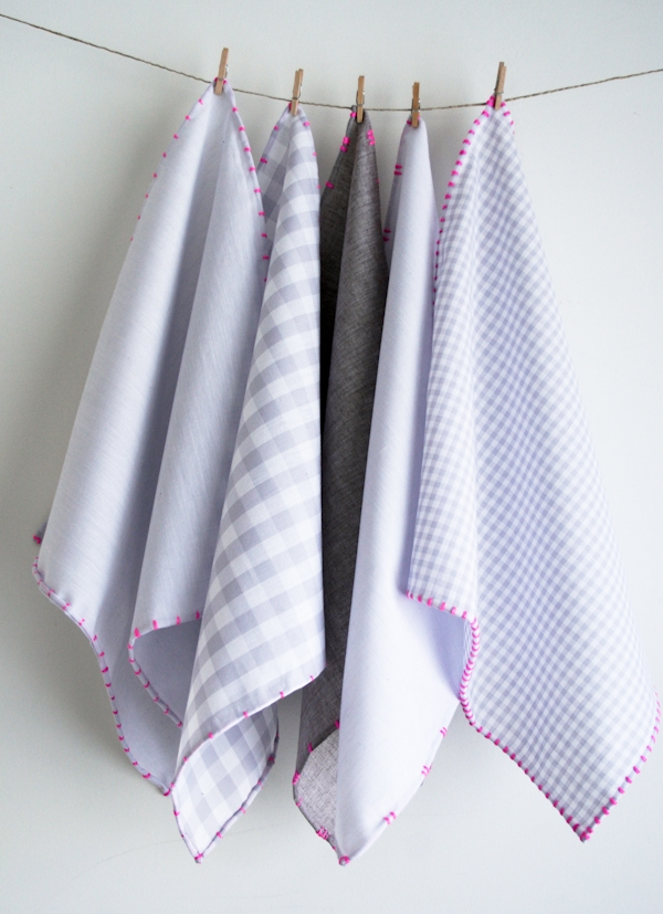 Roll and Dash Hankies | Purl Soho