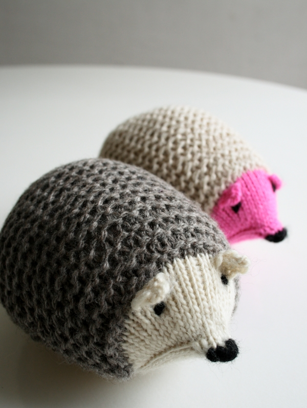Knit Hedgehogs | Purl Soho