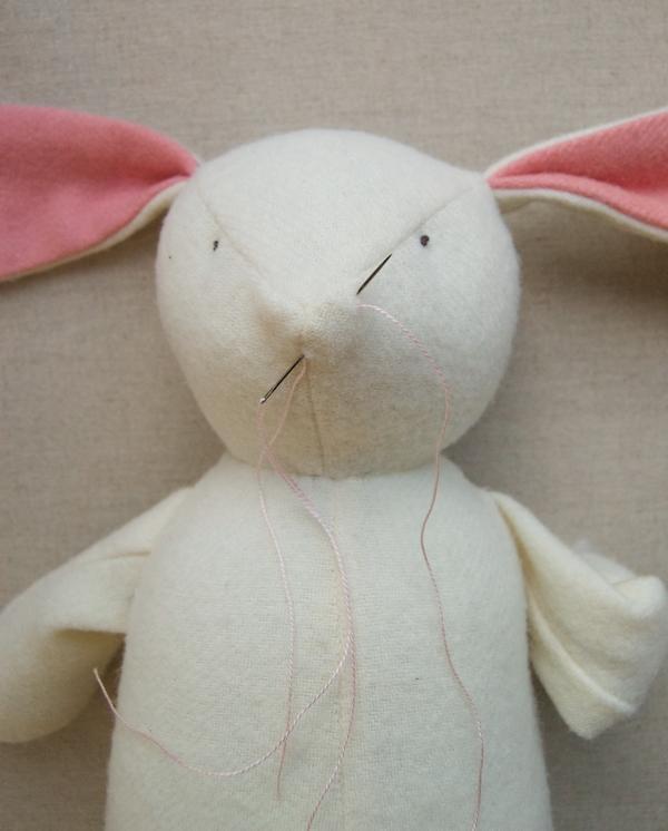 Заяц мягкая игрушка своими руками 11