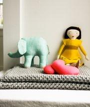 Fluffy Brioche Baby Blanket | Purl Soho
