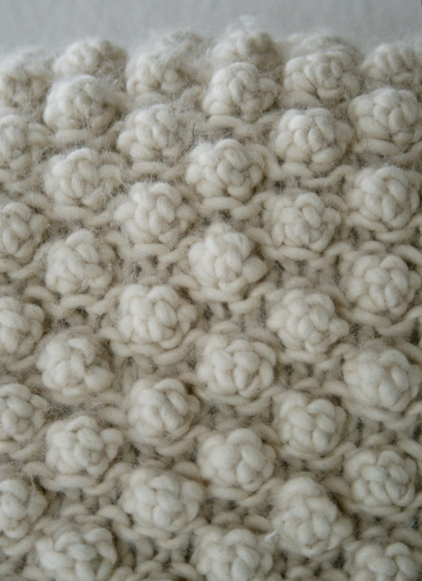 5 Stitch Garter Bobble Purl Soho