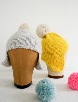 Cozy Ear Flap Hat | Purl Soho