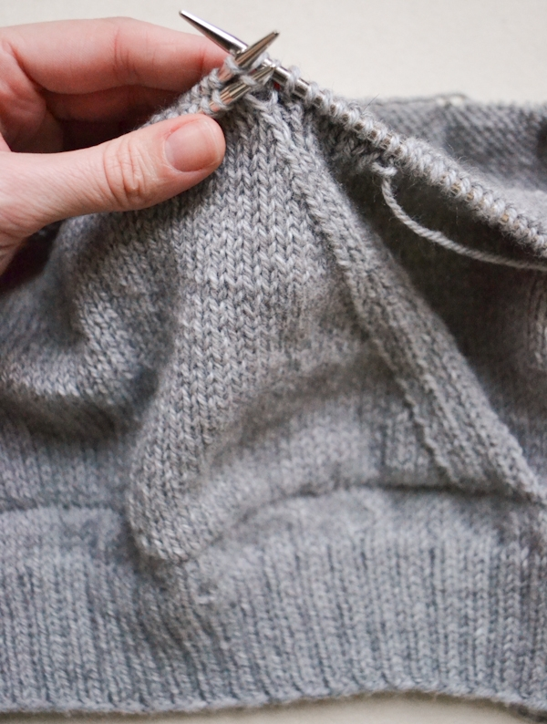 How To Measure Stitches Per Inch Knitting : Sweatshirt Sweater Purl Soho