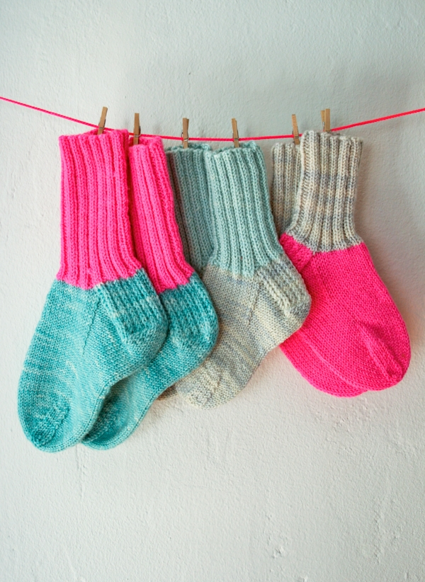Toddler Socks Purl Soho