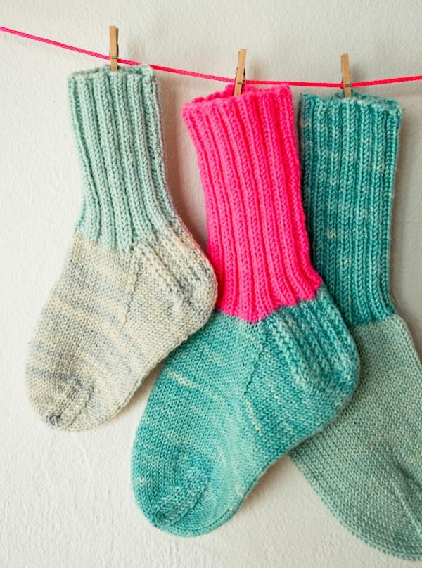 Toddler Socks Knitting Pattern : Toddler Socks Purl Soho
