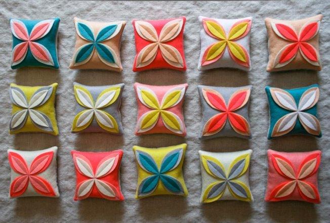 Felt Flower Sachets | Purl Soho