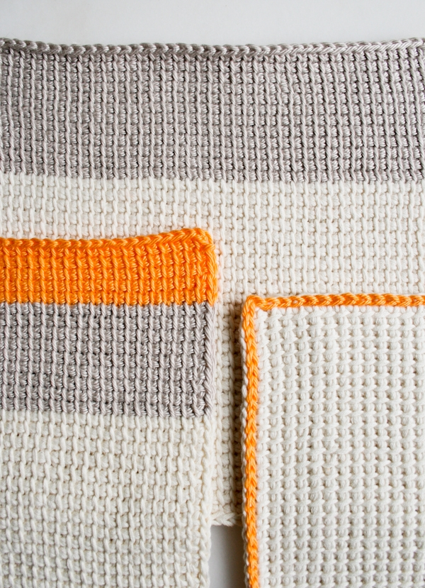 Tunisian Crochet Washcloths | Purl Soho