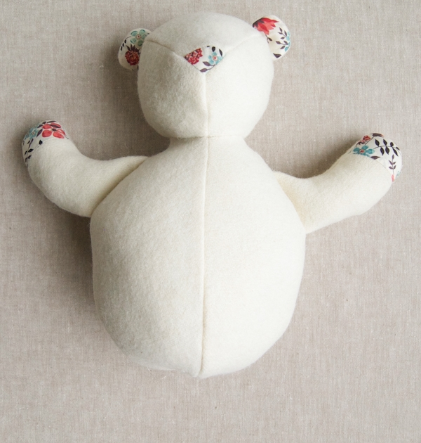 Wool + Liberty Teddy Bear | Purl Soho
