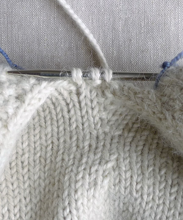 How To Arm Knit Purl Stitch : Knit Octopus Purl Soho