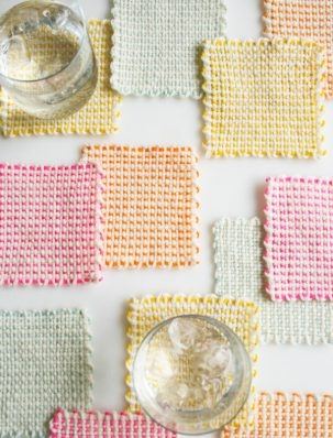 Pin Loom Coasters | Purl Soho