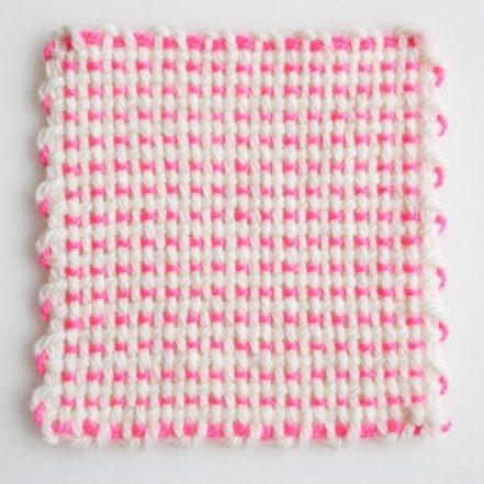 Pin Loom Coasters | Purl Soho