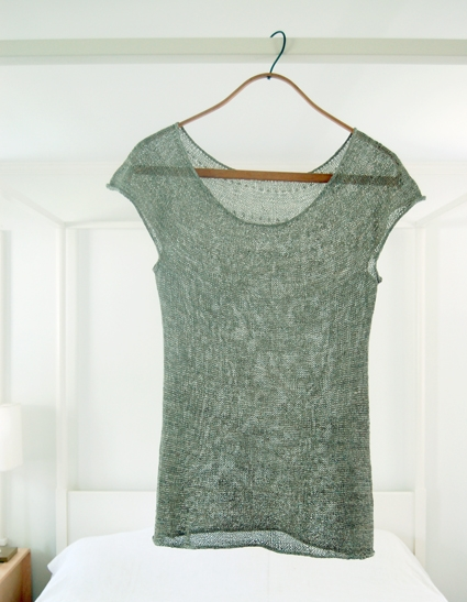 Silken Straw Summer Sweater | Purl Soho