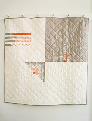 66f2ee2375 Simple Four Square Quilt | Purl Soho