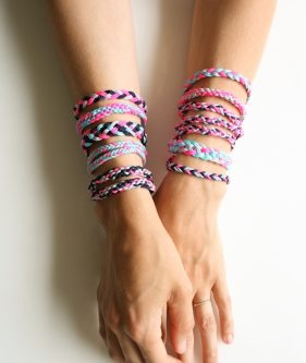 Braided Friendship Bracelets