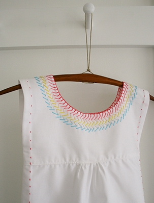 Embroidered Cotton Jumper | Purl Soho