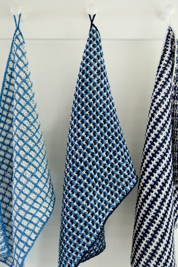 Slip Knitting Stitches Instructions : Slip Stitch Dishtowels Purl Soho