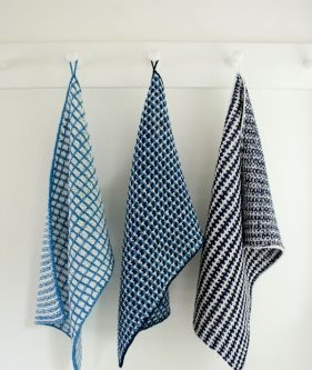 Slip Stitch Dishtowels