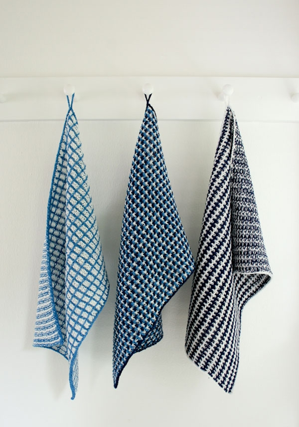 Slip Stitch Dishtowels | Purl Soho