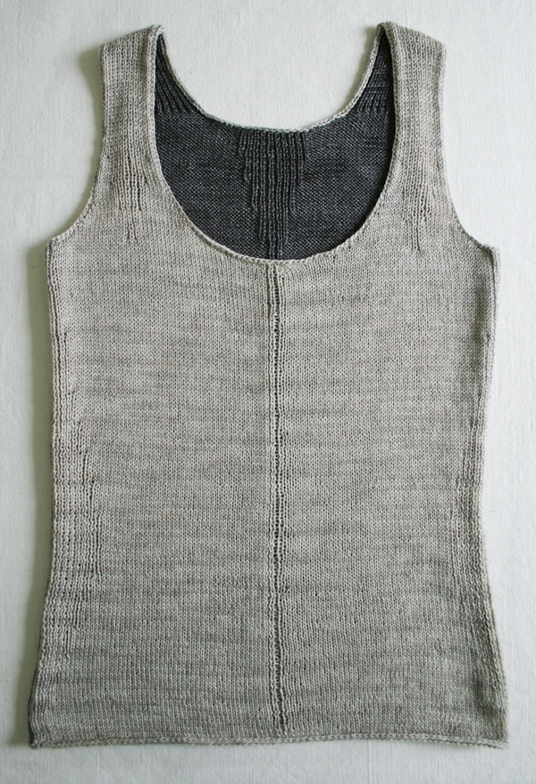 Knitting Patterns For Children s Tank Tops : Rib-Wise Tank Purl Soho