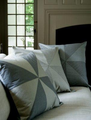 Big Pinwheel Pillows | Purl Soho