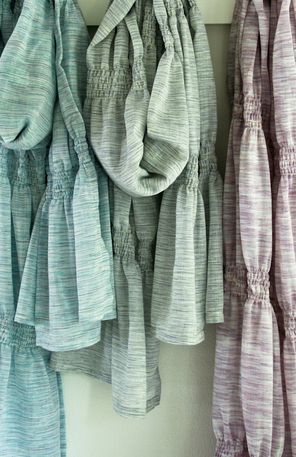 Smocked Summer Scarf | Purl Soho