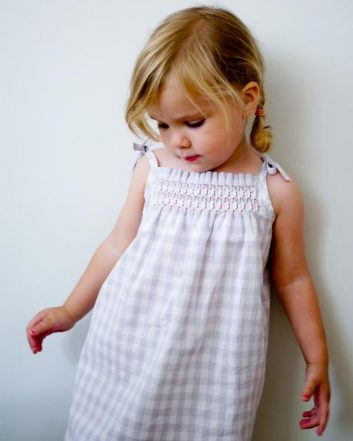 Smocked Dress + Shirt | Purl Soho