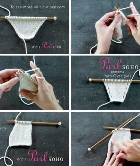 Introducing Purl Soho Video Tutorials!